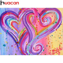 5D Diamond Painting Two Painted Hearts Kit