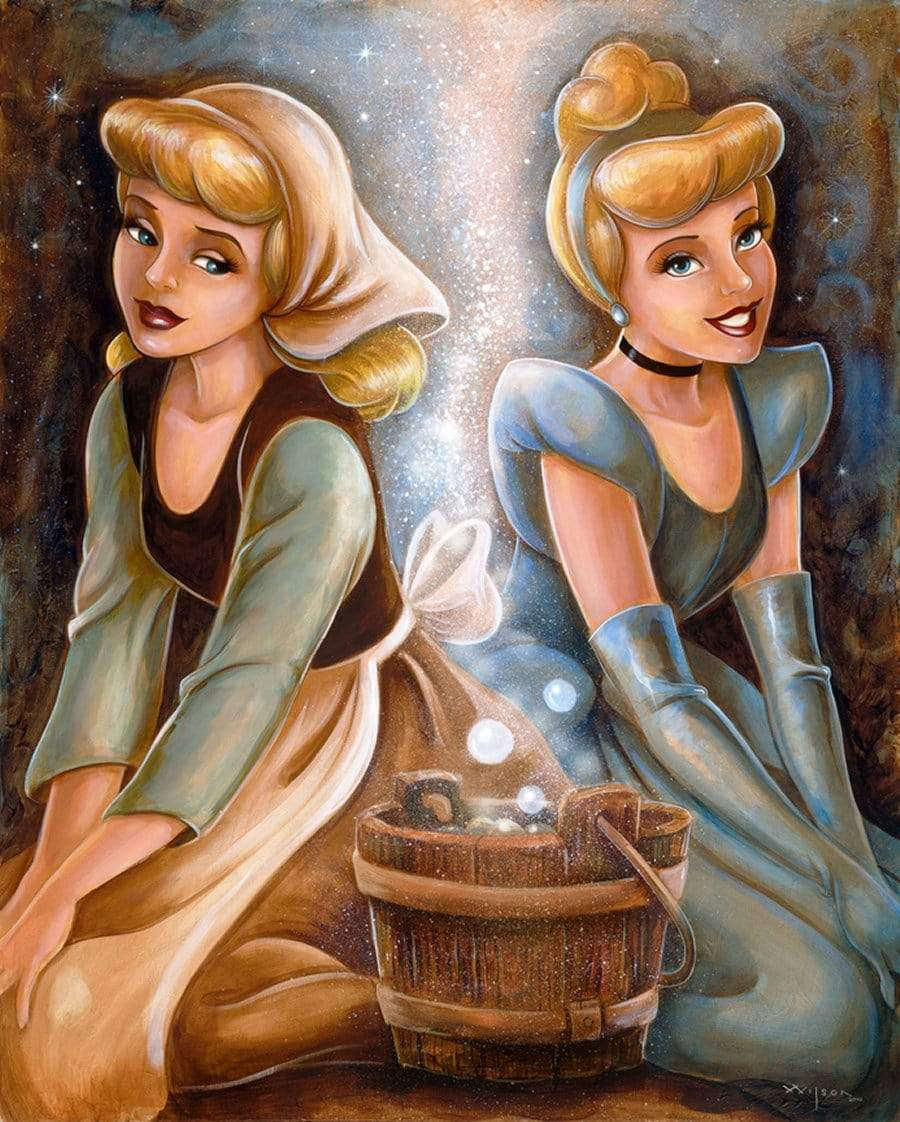 5D Diamond Painting Two Sides to Cinderella Kit