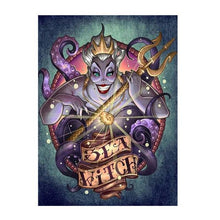 5D Diamond Painting Ursula the Sea Witch Kit