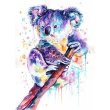 5D Diamond Painting Watercolor Koala Kit