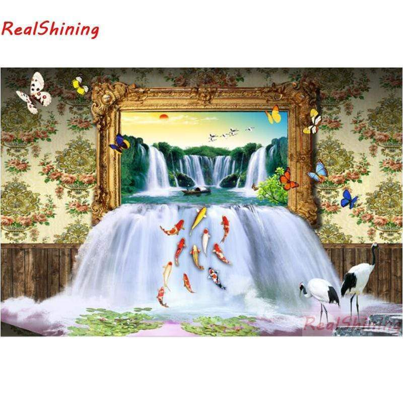 5D Diamond Painting Waterfall Picture Kit