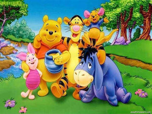 5D Diamond Painting Winnie the Pooh and Friends Kit