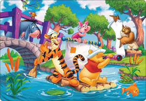 5D Diamond Painting Winnie the Pooh Rafting Kit