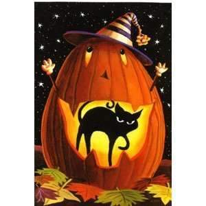 5D Diamond Painting Witch Hat Jack-o-Lanturn Kit