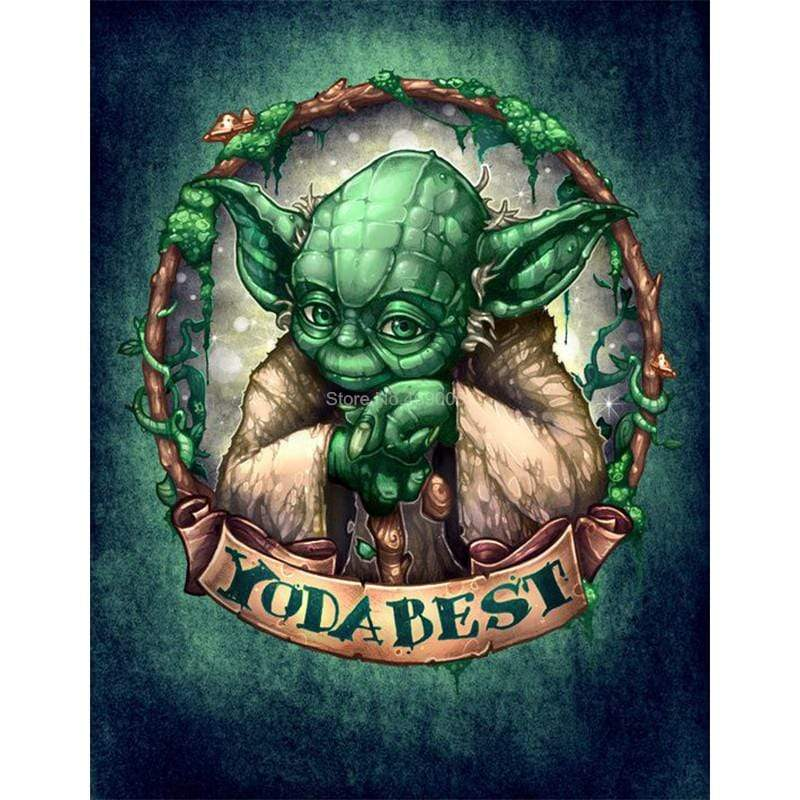 5D Diamond Painting Yoda Best Kit