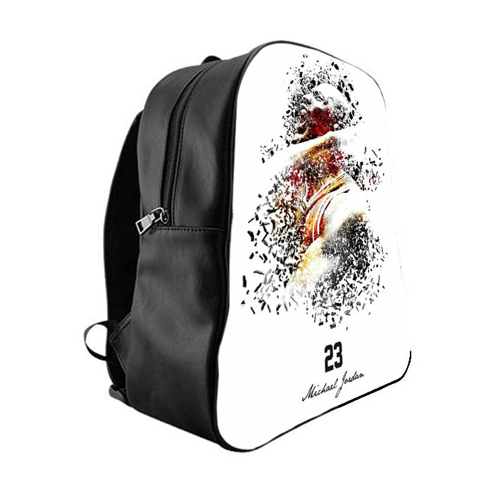 4add8e7a4175 23 michael jordan School Bag Backpacks - babyshark co