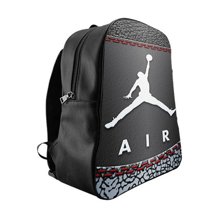 2a77a1f3ed58 Air jordan Michael Jordan shoes School Bag Backpacks - babyshark co