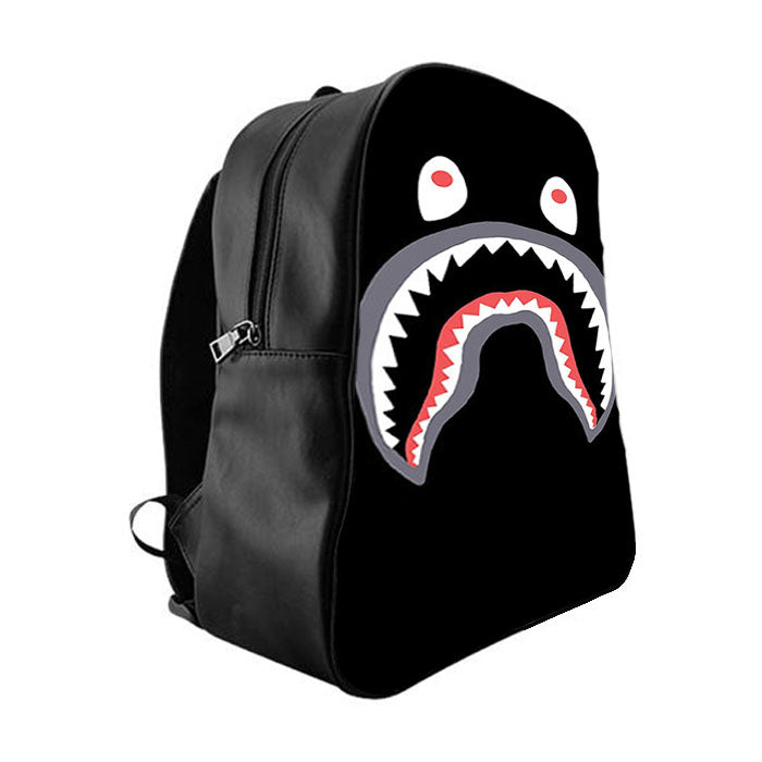 Bape Shark Backpack >> Bape Shark School Bag Backpacks