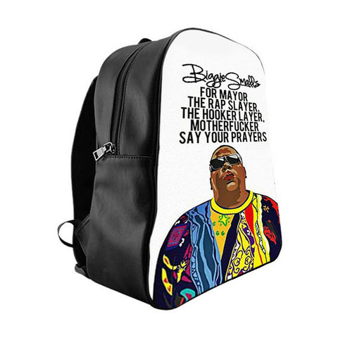 Biggie Smalls Quotes + Quick Shop. Biggie Smalls Quotes School Bag Backpacks   41.25 4bf8e60afa88d