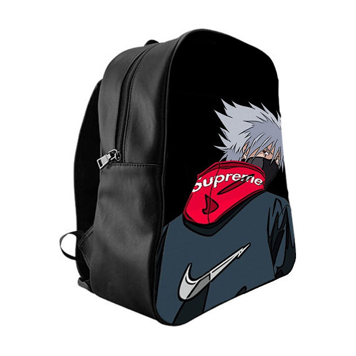 caf1550e222b SUPREME KAKASHI NARUTO School Bag Backpacks - babyshark co