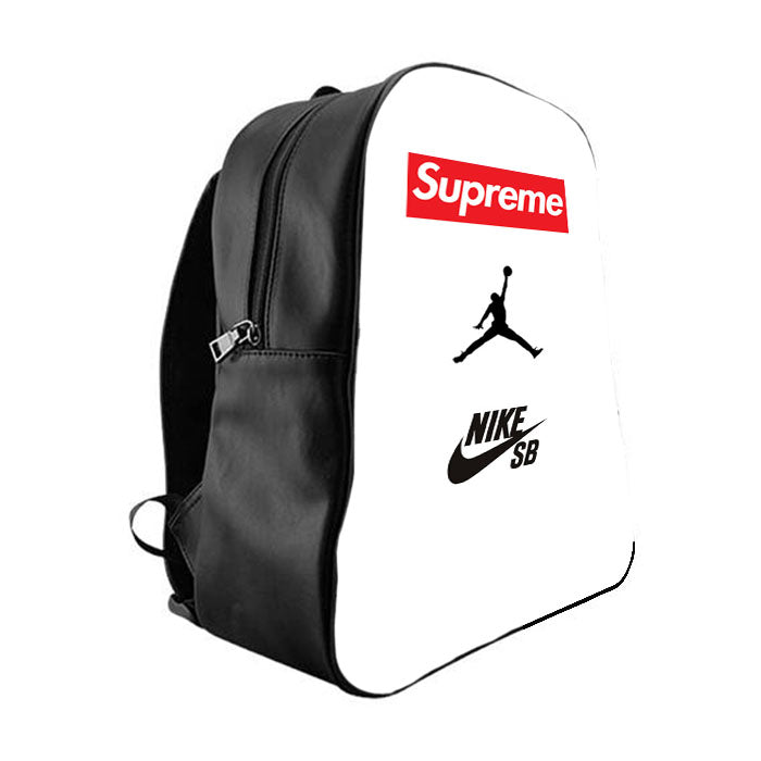 ddc5635d6d38 Supreme Nike Jordan School Bag Backpacks - babyshark co