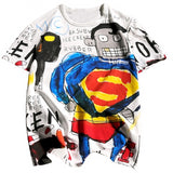 Banksy SuperMan Tshirt