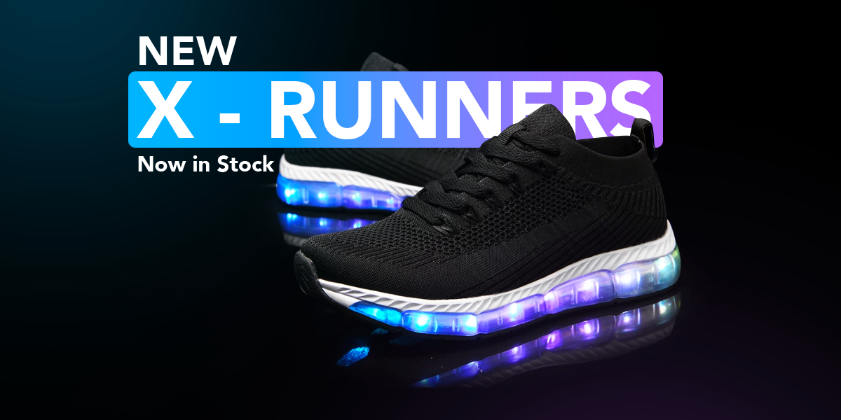 Nike Shoes Light Up With Flash