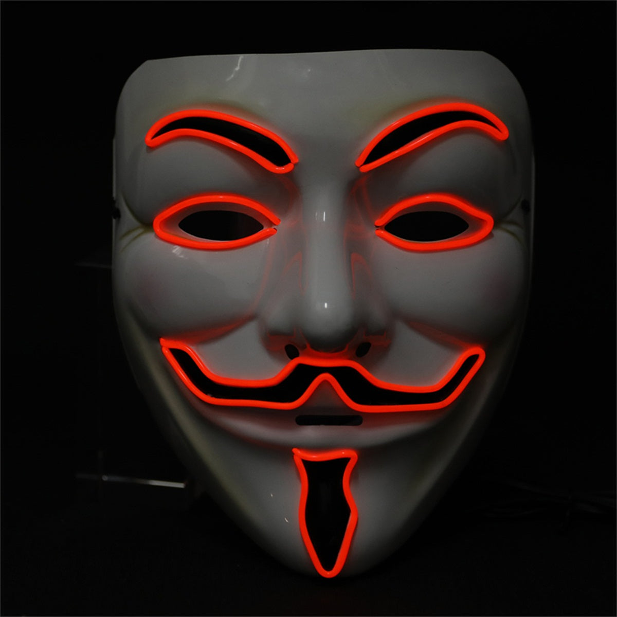 Light up Anonymous Mask - Red