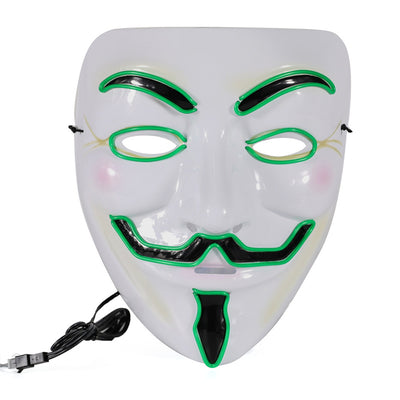 Light up Anonymous Masks
