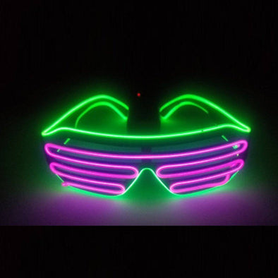 Light up Shutter Shades | Eyewear | Party UK