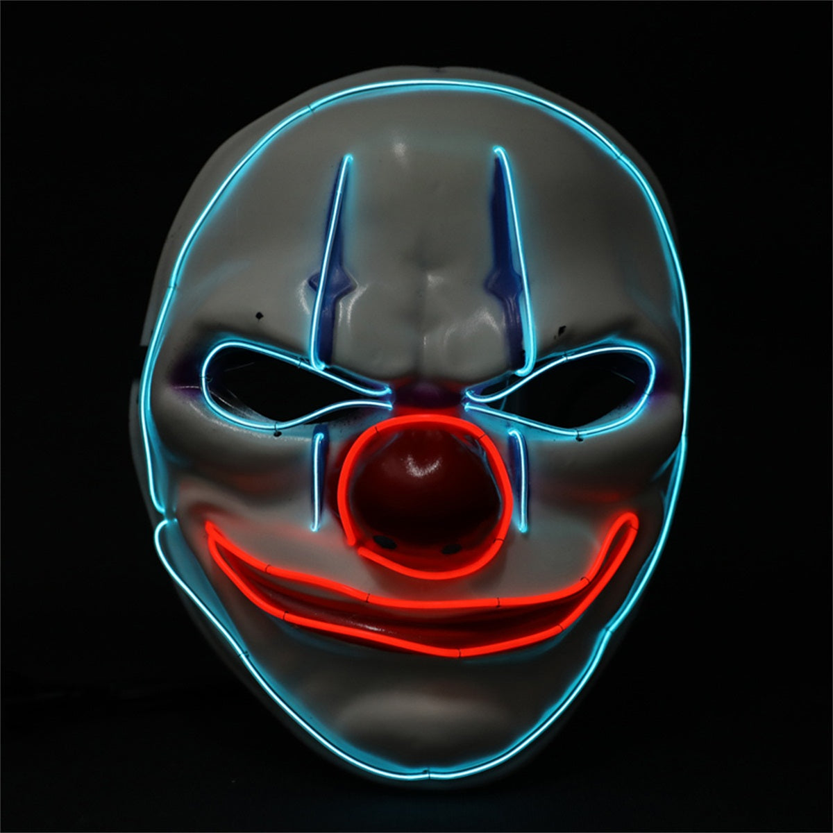 Crazy Clown LED Mask