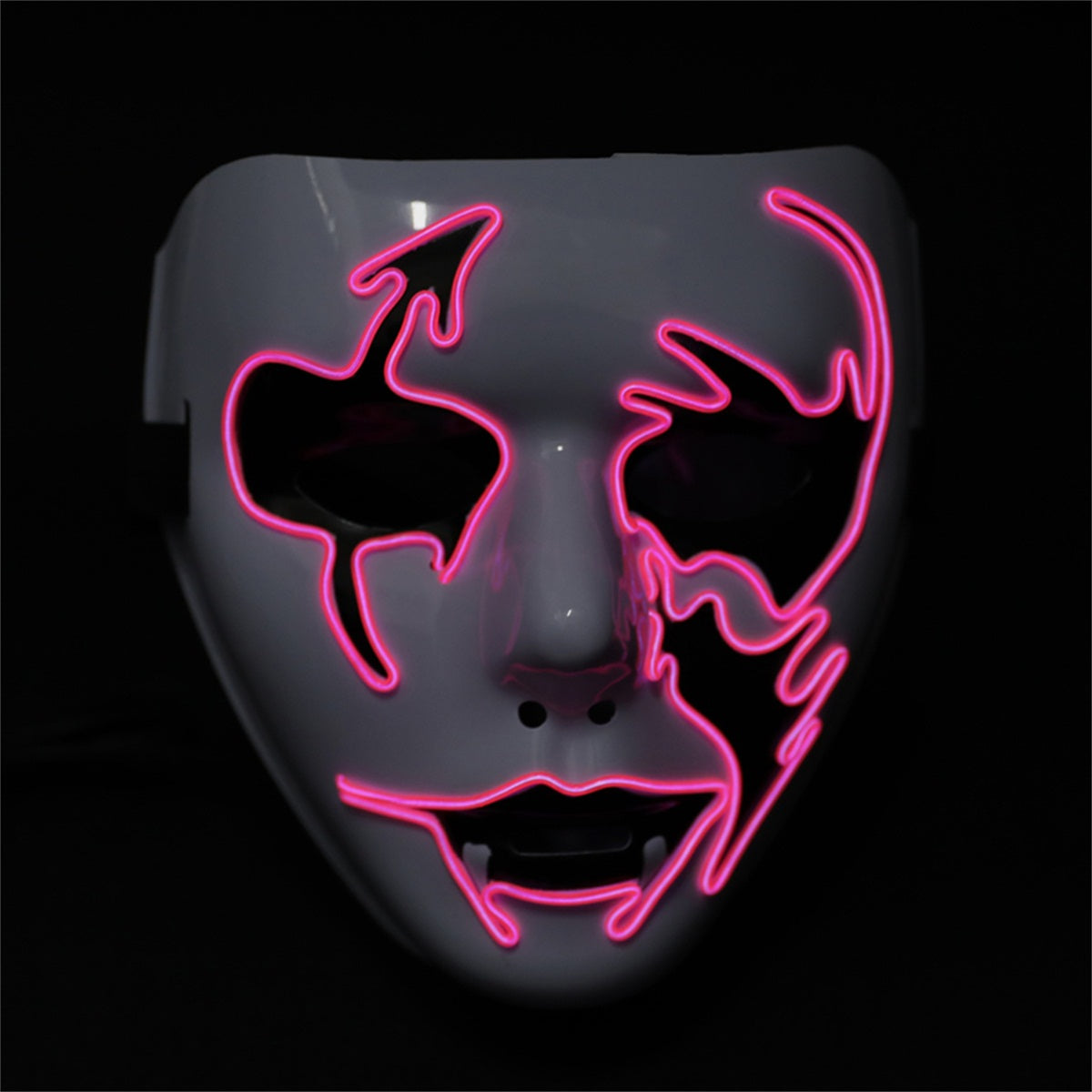 Light up Flash Mask LED Arrow Face