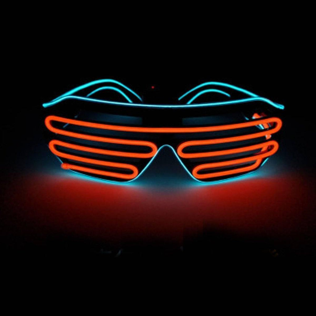 LED Light up Shutter Sunglasses | UK Brand