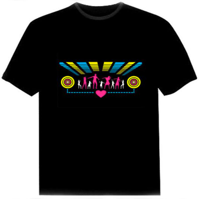 Light-up Dance Equaliser T Shirt