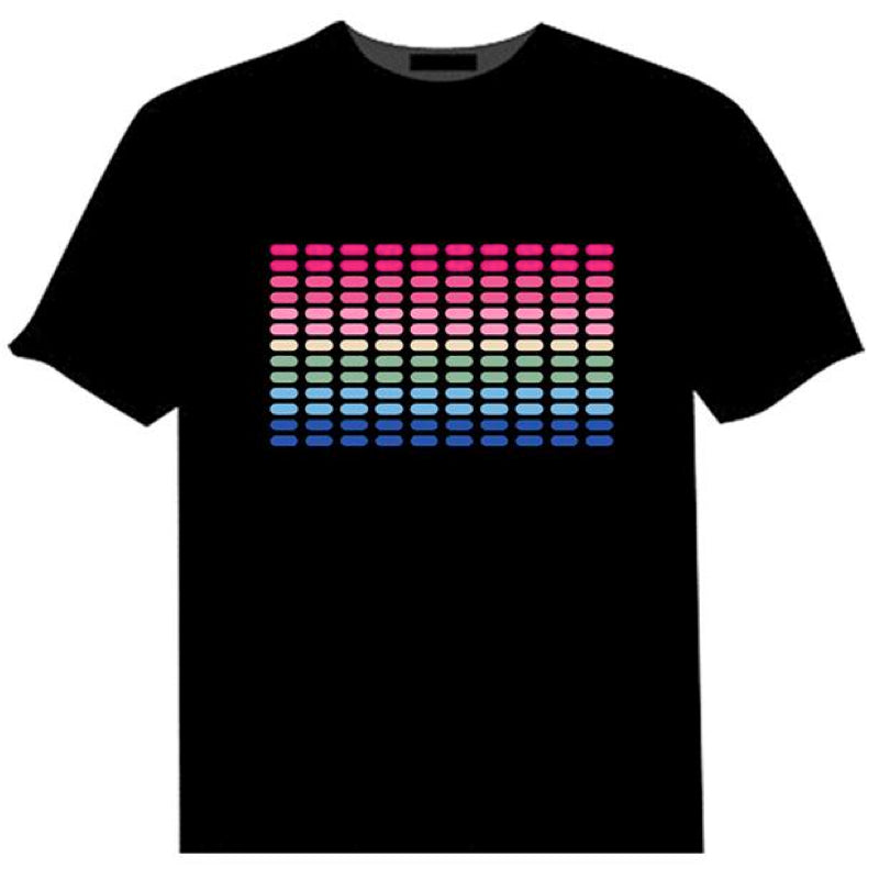 Light-up Equaliser T Shirt