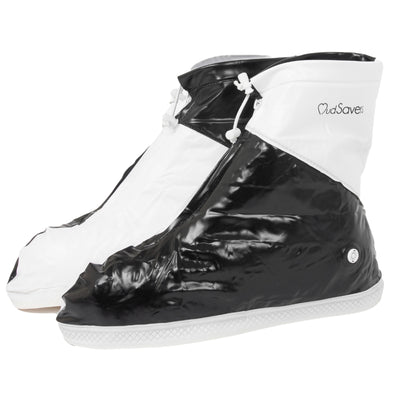 MudSavers Black/White Shoe Cover