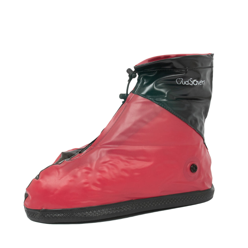 MudSavers Red/Black Shoe Cover