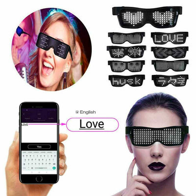 APP Controlled LED Glasses