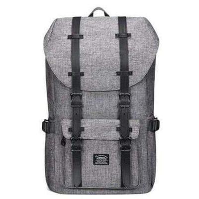 Backpack - Grey/Black Backpack