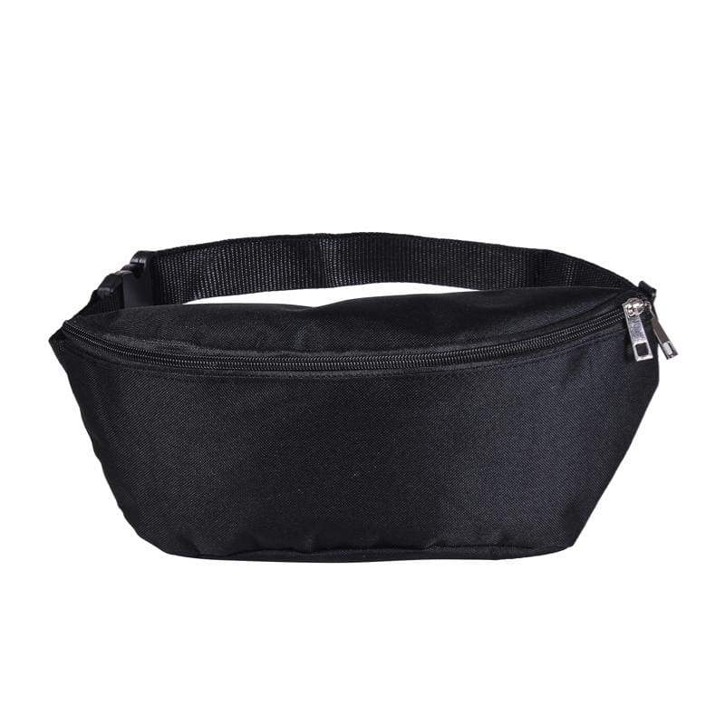 BUMBAG - Black Canvas Bumbag