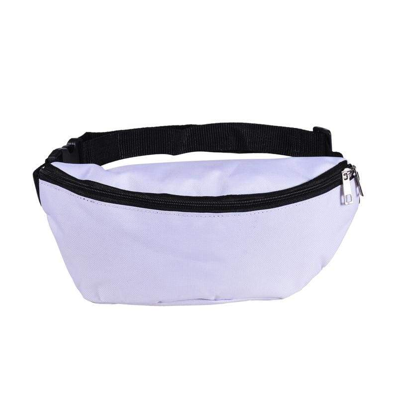 BUMBAG - White Canvas Bumbag