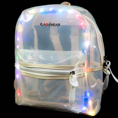 Light-up Backpack - Clear