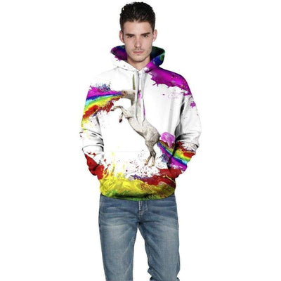 Clothing - Unicorn - Overprint Hoodie