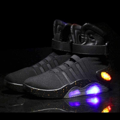 Flashez LED Footwear - Flash Wear Black Cyclones