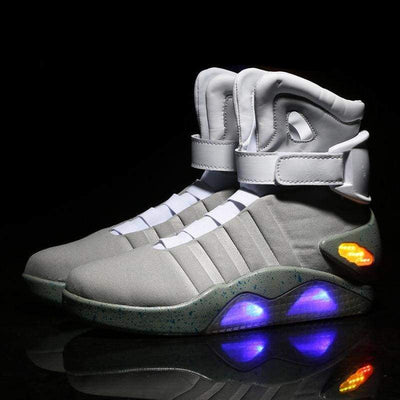 Flashez LED Footwear - Flash Wear Grey Cyclones