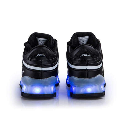 Flashez LED Footwear - Flashez LED S10's Black