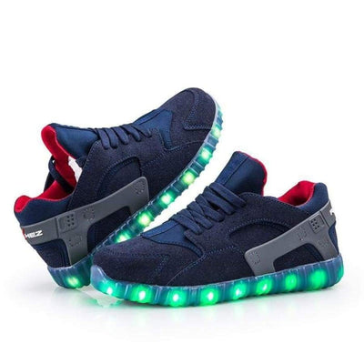 Flashez LED Footwear - Flashez Navy Hurricanes
