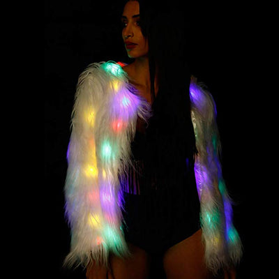 Light-up Fur Jacket