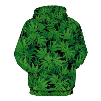 Hash Green - Overprint Hoody - Clothing