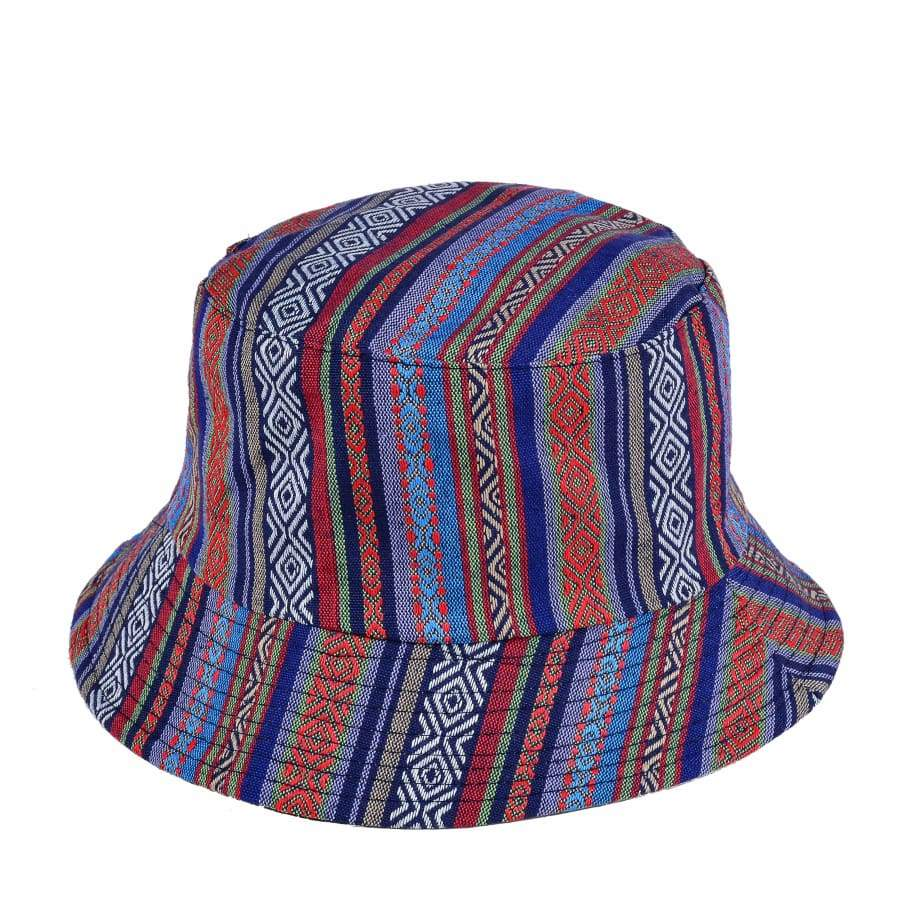 59010415d769b Hats - Turquoise Patterned Bucket Hat