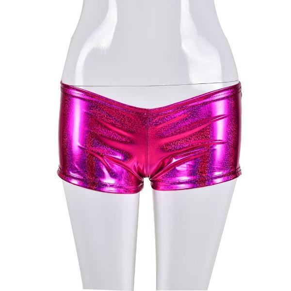 Holographic Hotpants - Pink Holographic Hotpants