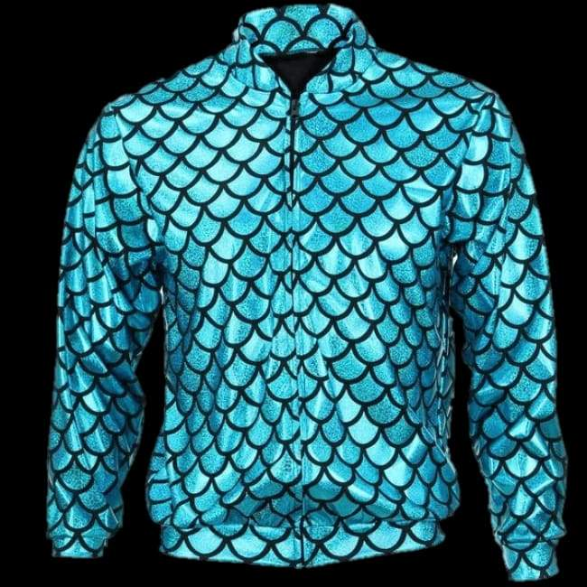 Flash Jacket Blue Scale