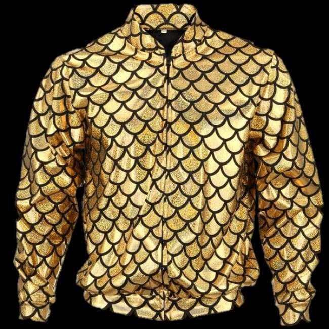 Flash Jacket Gold Scale