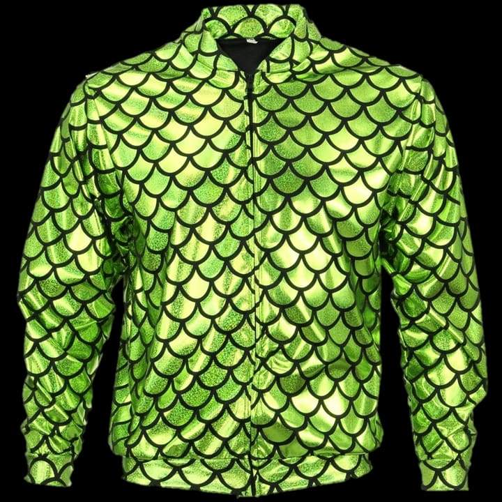 Flash Jacket Green Scale