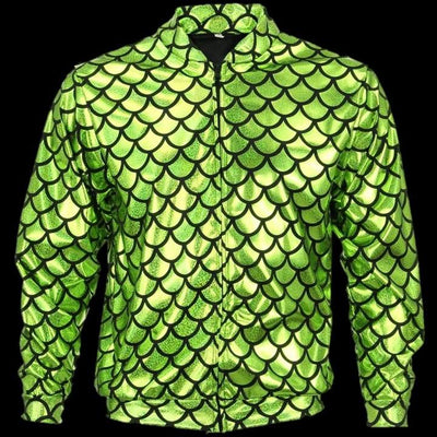 Jackets - Flash Jacket Green Scale