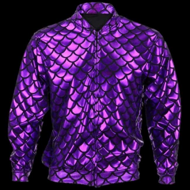 Flash Jacket Purple Scale