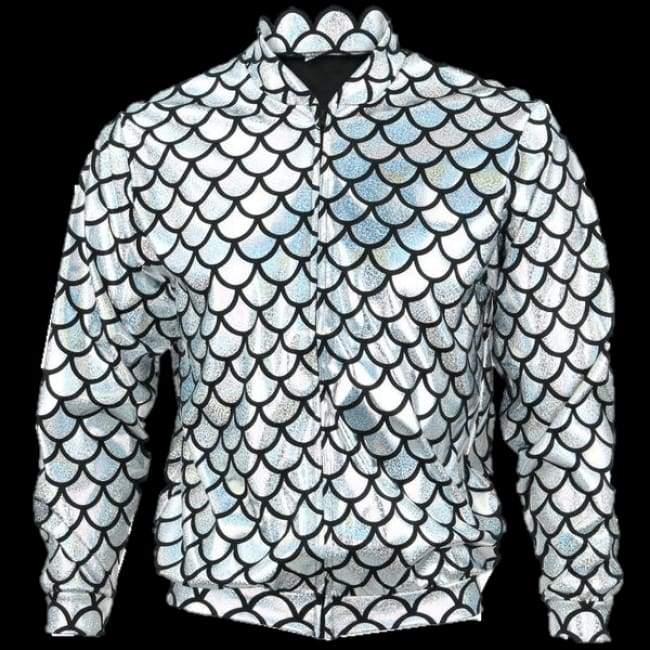 Flash Jacket Silver Scale