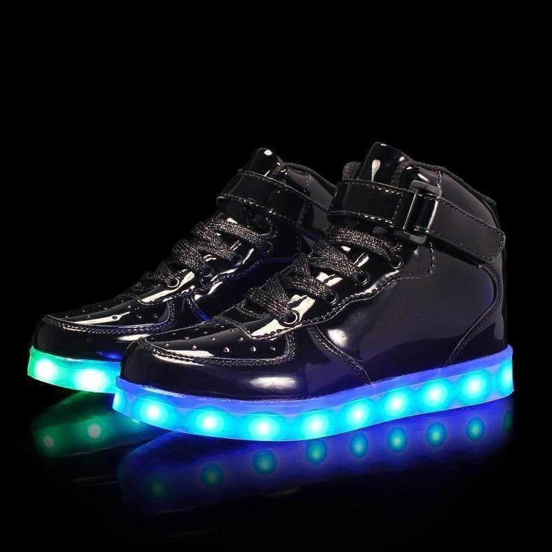 LED Shoes - Flash Wear Black Edition