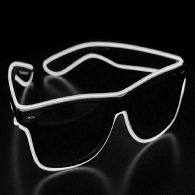 Light Up Led Glasses - White - Glasses