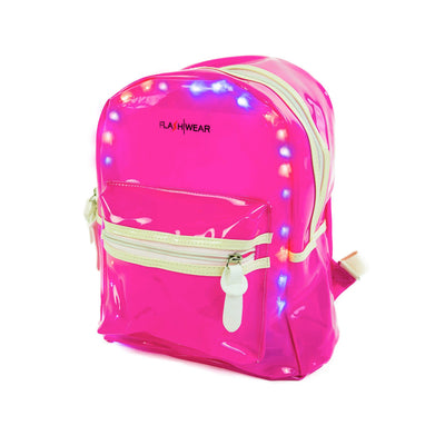 LED Transparent Backpack | Festival Accessories